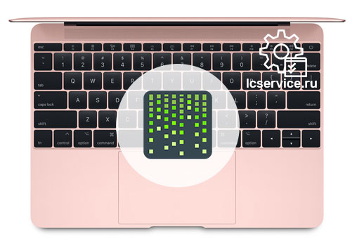 замена матрицы на MacBook